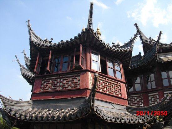 Shanghai Temple Of the Town God (Chenghung Miao): Yuyuan Garden-Shanghai