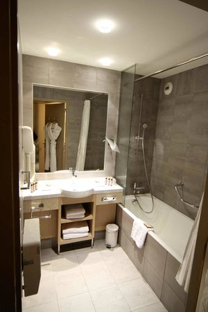 salle de bain tr s propre et moderne picture of hotel. Black Bedroom Furniture Sets. Home Design Ideas