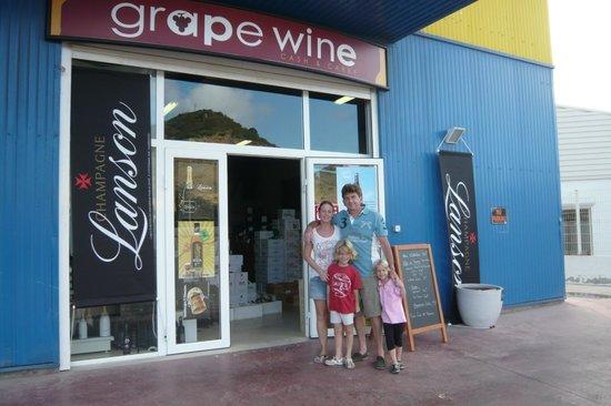 Grapewine: Der freundliche Unternehmer