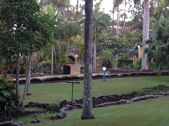 Korora Bay Village Resort : front of resort