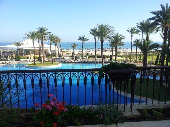Movenpick Resort & Marine Spa Sousse : Vue de la véranda