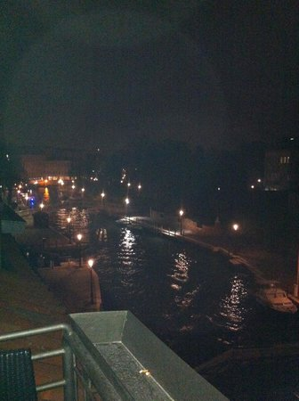 Arlecchino Hotel : view from the balcony of the room on the 4th floor
