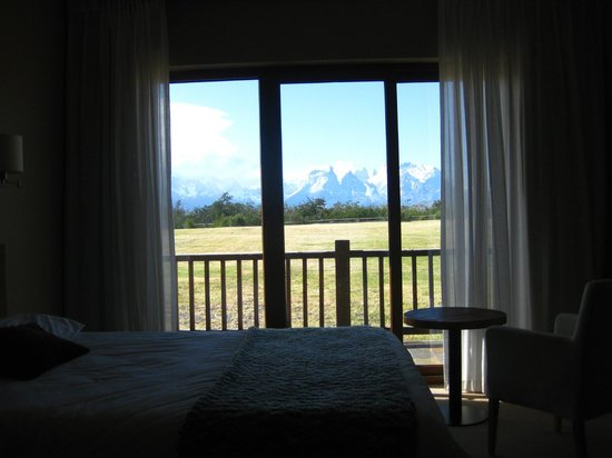 Hotel Rio Serrano: great mornings with a view like this one!