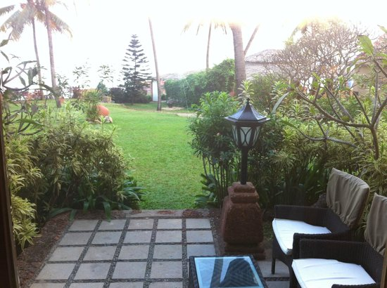 Taj Fort Aguada Resort & Spa, Goa: View from the room