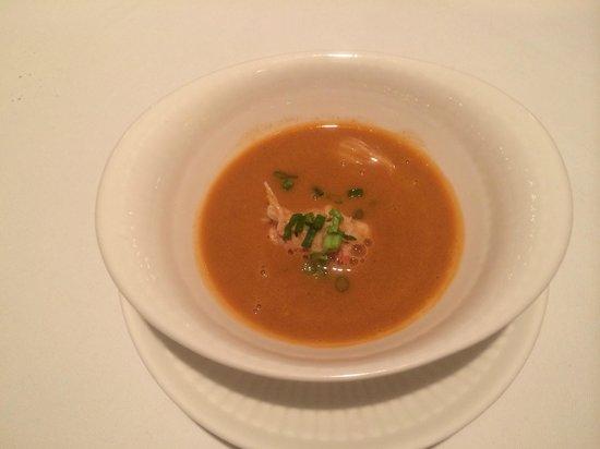 Restaurant & Hotel Traumerei : スープ