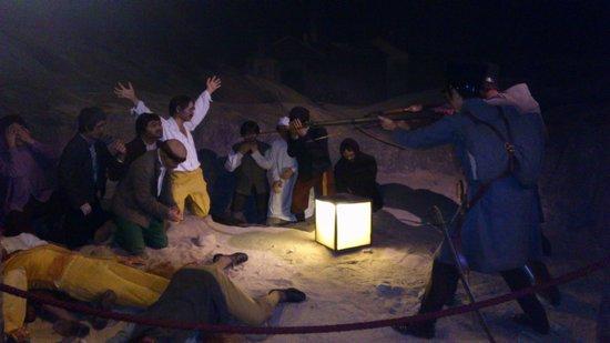 Museo de Cera de Madrid: Fusilamiento del 3 de mayo en cera