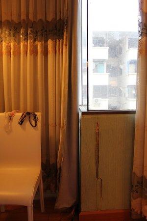 Aunchaleena Bangkok Hotel: Подоконник