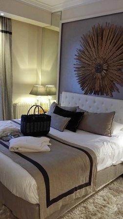 Best Western Grand Monarque : le lit