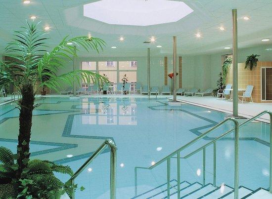 Teplice, Repubblica Ceca: Санаторий Бетховен - термальный бассейн