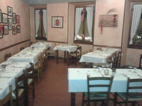 Hotel Ristorante Bellavista Impruneta : EL COMEDOR