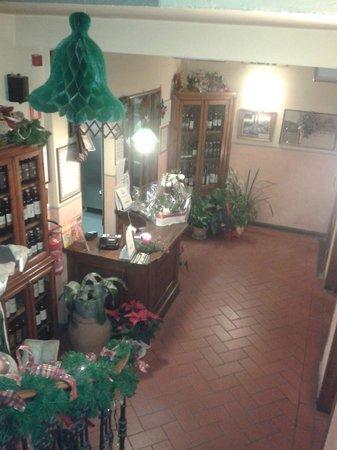 Hotel Ristorante Bellavista Impruneta : RECEPCION