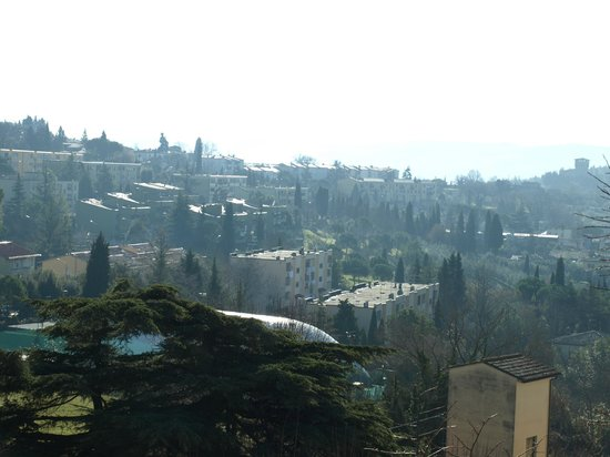 Hotel Ristorante Bellavista Impruneta : DESDE LA TERRAZA