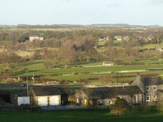 Clyde House: view of the Dales