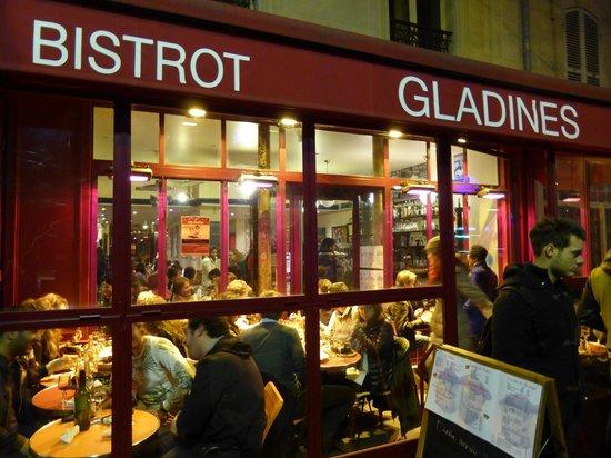 Chez Gladines: Visto da fuori
