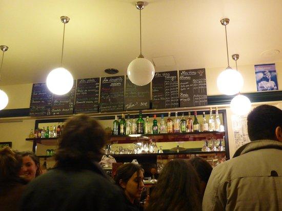 Chez Gladines: Il menù