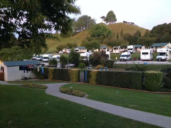 Waitomo Top 10 Holiday Park : sites