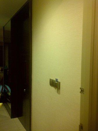 Gran Melia Jakarta : room entrance