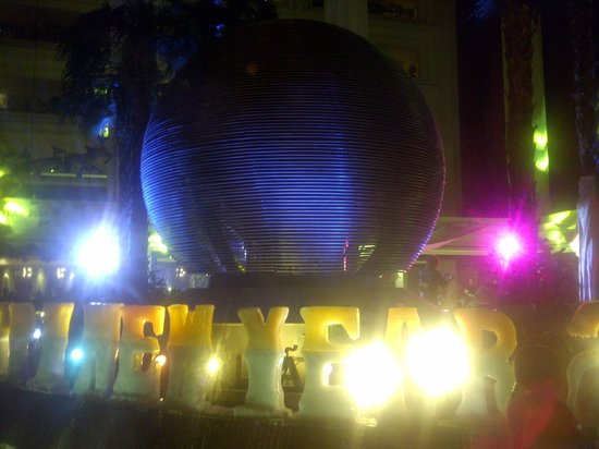 Gran Melia Jakarta: new year ball