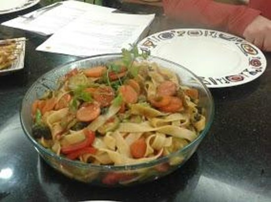 The House of Cooking: Final outcome , Macaroni with vegetable