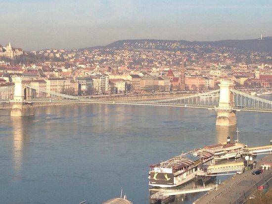 "Budapest Marriott Hotel: Vue de la Terrasse "" Exécutive Loundge """