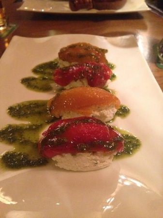 Nuance Restaurant : Pepers to start