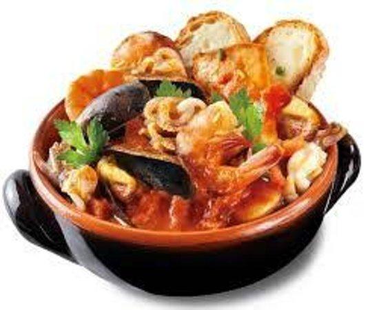 Albergo Ristorante Parco: zuppa di pesce