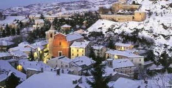 Albergo Ristorante Parco: pennabilli con la neve