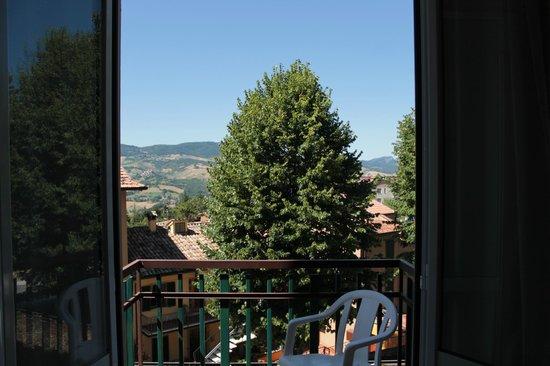 Albergo Ristorante Parco : paesaggio dalla finestra della camera
