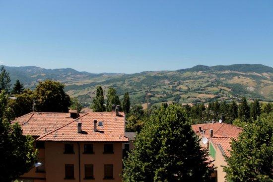 Albergo Ristorante Parco : paesaggio dal balcone delle camere