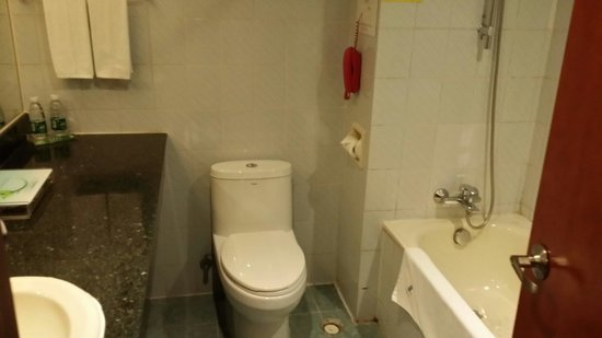 L Hotels (Zhuhai Lianhua): Old n outdated toilet