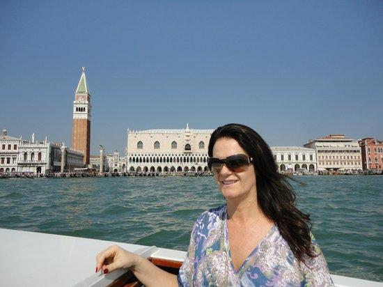 Venice & Venice : chegante de barco a veneza