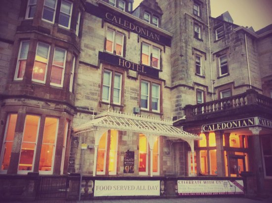 The Oban Caledonian Hotel Jan 2014