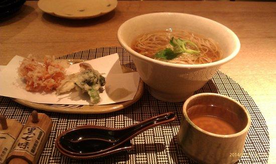 Homemade Soba Shian