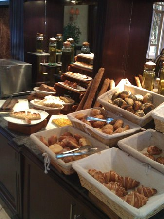 Le Médina Essaouira Hôtel Thalassa Sea & Spa - MGallery Collection : petit dej Buffet