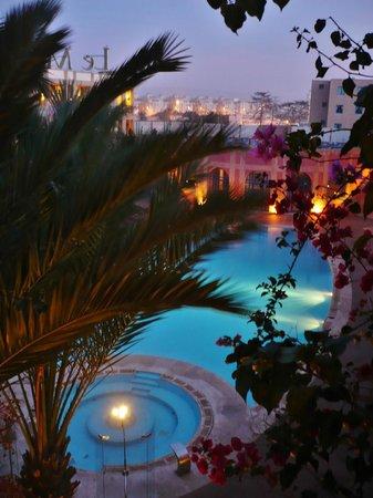 Le Médina Essaouira Hôtel Thalassa Sea & Spa - MGallery Collection : vue du balcon!