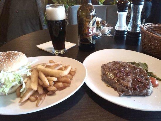 TOWERS Steak & Salad: Entrecote & Angusburger