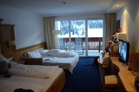 Hotel Grones : Camera e panorama