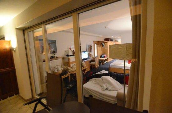 Hotel Grones : Camera vista dalla terrazza