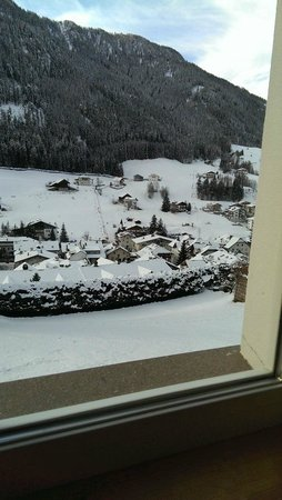 Hotel Grones : Panorama dalla sala da pranzo