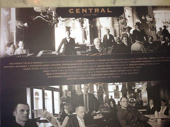Central Cafe and Restaurant: Central Kavehaz Budapest