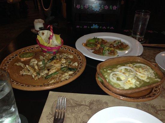 La Mexicana: Tasty food!