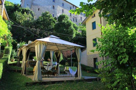 Albergo Ristorante Parco: il giardino della struttura