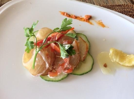 Tamassa: Smoked Marlin starter