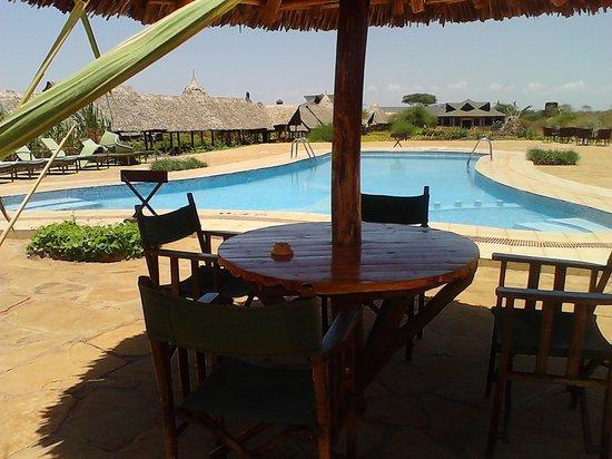 AA Lodge Amboseli : Swimming pool
