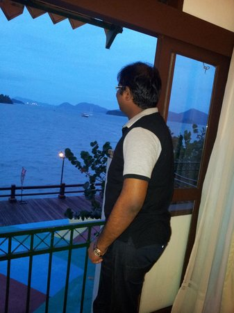 Resorts World Langkawi: View from seaview room.