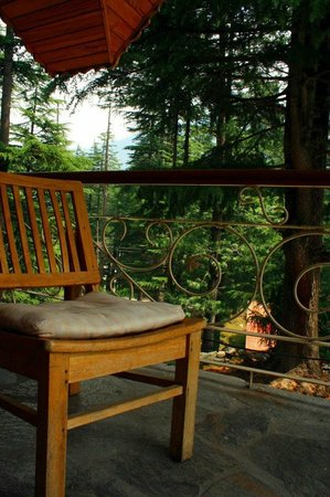 Casa Bella Vista Cottages & Cafe: Grogeous View of the snow capped peaks
