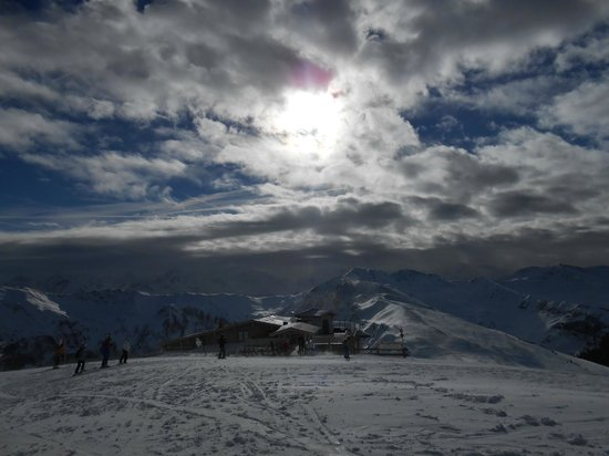 Berger's Sporthotel: views on the mountain