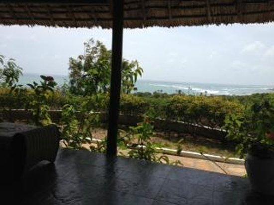 Changani Beach Cottages: view from samakai room veranda