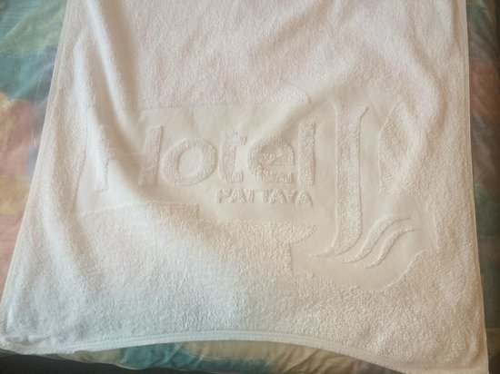 Hotel J Pattaya: towel from the article