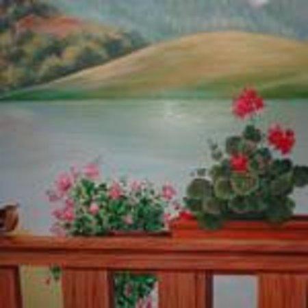 Maso Sveseri: dipinto sala ristorante